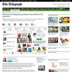 British social shopping app Depop raises $8m for US expansion