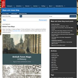 British Town Maps - Maps and views blog