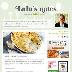 British Pie Week: Cheat's fish pie
