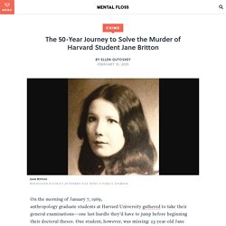 Jane Britton Murder