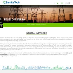 High Speed Broadband Network Integration, Telecom Services - Sterlite Tech