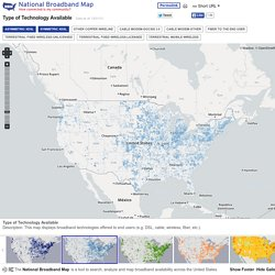 Broadband Map - Technology - National Broadband Map