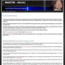 Broadband HF Vertical - MARTIN - G8JNJ