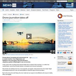 Drone journalism takes off