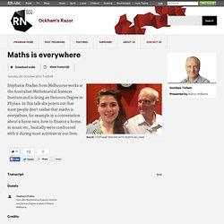 Maths is everywhere - Ockham's Razor