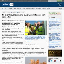 NT to shift public servants out of Darwin to ease traffic congestion