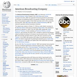 ABC American Broadcasting Company