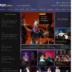 NYC.com | New York Hotels - Broadway Tickets - New York Restaurants - Official Site