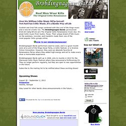 Brobdingnagian Bards - Irish, Folk & Celtic Music from Austin, Texas
