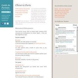 Puces, brocantes & vide-greniers à Paris : agenda, calendrier
