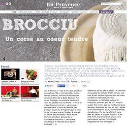 Brucciu, fromage de brebis corse