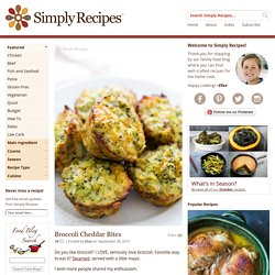 Broccoli Cheddar Bites Recipe