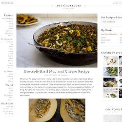 Broccoli-Basil Mac and Cheese Recipe