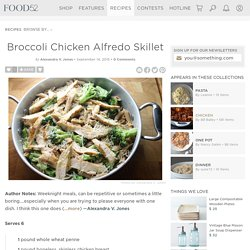 Broccoli Chicken Alfredo Skillet Recipe on Food52