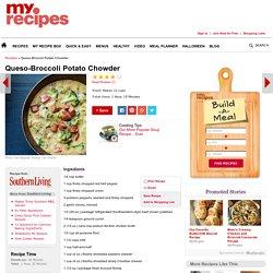 Queso-Broccoli Potato Chowder Recipe