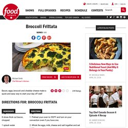 Broccoli Frittata Recipes