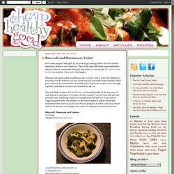 Broccoli and Parmesan, Unite!