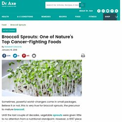 Broccoli Sprouts: One of Nature's Top Cancer-Fighting Foods