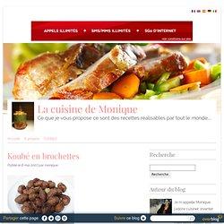 Koubé en brochettes - La cuisine de Monique