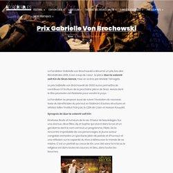 Prix Gabrielle Von Brochowski – Les Récréatrales