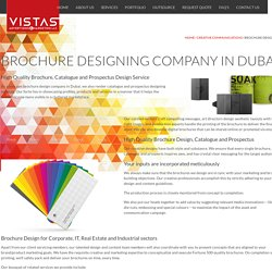 Brochure Design Company in Dubai, Catalogue, Prospectus