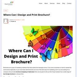Brochure Designing in Hyderabad – Visual Catalyst