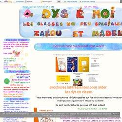 Des brochure qui peuvent vous aider!