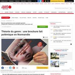 Théorie du genre: une brochure fait polémique en Normandie
