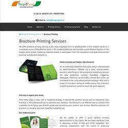 Brochure Printing Services – Design2print