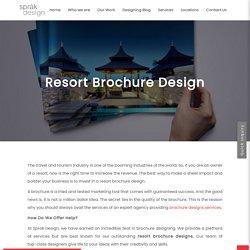 Resort Brochure Design Services At Affordable Rates