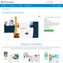 Free Sample Brochure Template | Brochure Examples by StockLayouts®