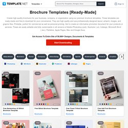 1245+ FREE Brochure Templates [Download Ready-Made Samples]