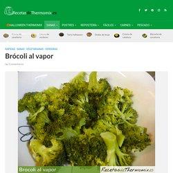 Brócoli al vapor en Thermomix