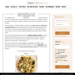 Quiche aux brocolis et aux épices (sans gluten sans lactose) - Comment j'ai changé de vie
