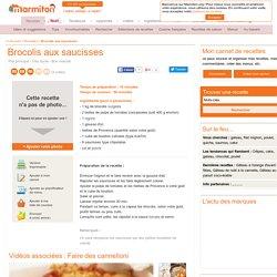 Brocolis aux saucisses