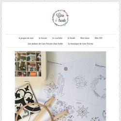 Patrons de broderie gratuits et vraiment sympas – Quelques modèles DMC, Mollie Makes et Mollie Johanson – Le blog de Caro Tricote