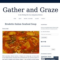 Brodetto Italian Seafood Soup