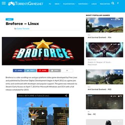 Broforce - Linux