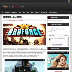 Broforce - Macintosh