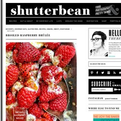 Broiled Raspberry Brûlée - Shutterbean
