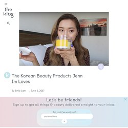 We Broke Down the Products in Jenn Im's K-beauty Haul