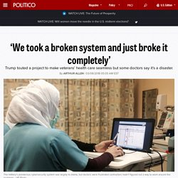 'We took a broken system and just broke it completely'