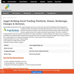 Angel Broking Brokerage