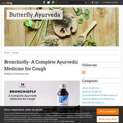 Bronchiofly- A Complete Ayurvedic Medicine for Cough - Butterfly Ayurveda