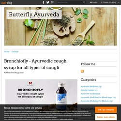 Bronchiofly - Ayurvedic cough syrup for all types of cough - Butterfly Ayurveda