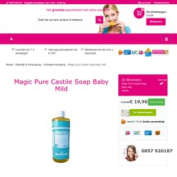 DR BRONNERS Magic pure castile soap baby mild