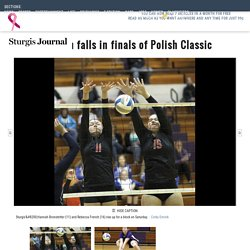Bronson falls in finals of Polish Classic - Sports - Sturgis Journal - Sturgis, MI - Sturgis, MI