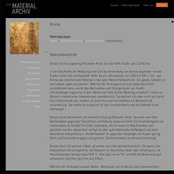 Bronze : Materialarchiv