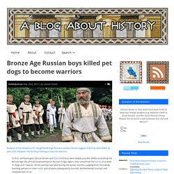 Bronze Age Russian boys killed pet dogs to become warriors