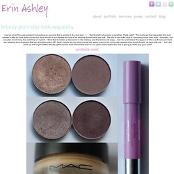 Bronzy plum day look-request